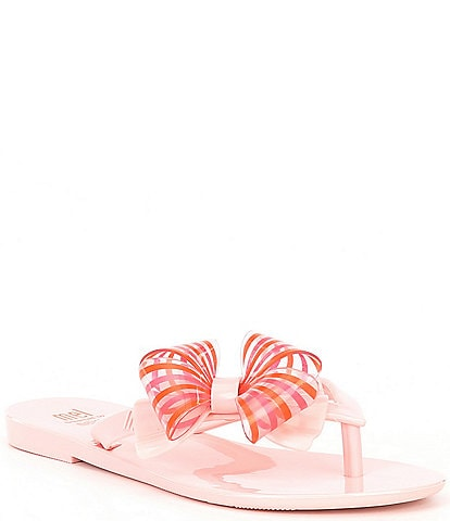 Mel by Melissa Girls' Harmonic Sweet II Flip Flops (Youth)