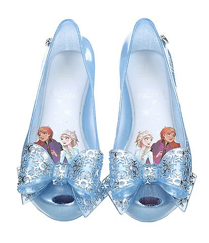 Mel by Melissa Girls' Ultragirl + Frozen Ballerina Flats (Youth)