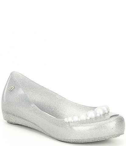 Mel by Melissa Girls' Ultragirl Girly Ballet Flats (Youth)