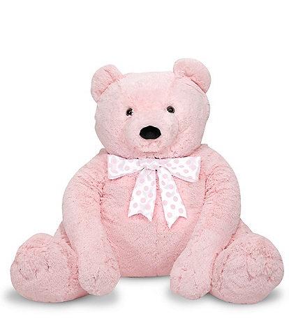Melissa & Doug 2' Jumbo Pink Teddy Bear - Plush