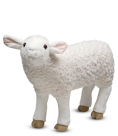Melissa & Doug 20#double; Lifelike Plush Sheep