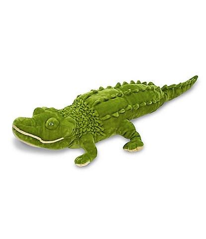 Melissa & Doug 18#double; Alligator Giant Stuffed Animal