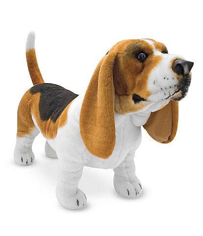 Melissa & Doug Basset Hound Dog Giant Stuffed Animal