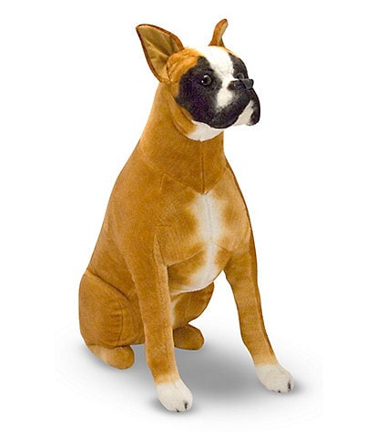 Melissa & Doug 27#double; Boxer Dog Giant Stuffed Animal
