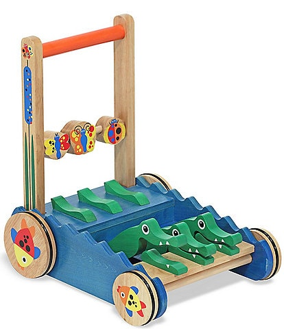 Melissa & Doug Chomp And Clack Alligators Push Toy