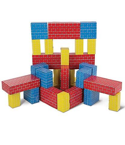 Melissa & Doug Deluxe Jumbo Cardboard Blocks - 40 Pieces