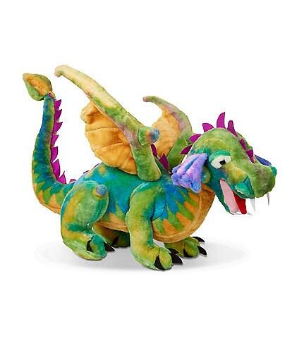 Melissa & Doug 12#double; Dragon Giant Stuffed Animal