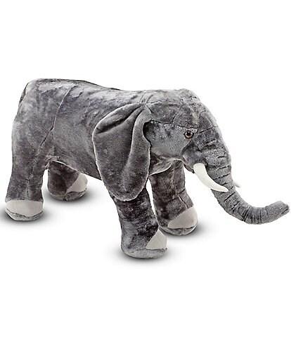 Melissa & Doug 17#double; Elephant Giant Stuffed Animal