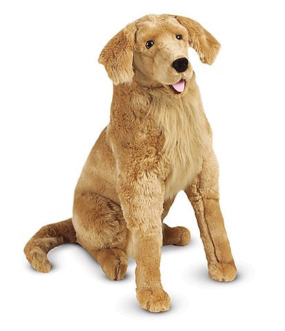 Melissa & Doug 31#double; Golden Retriever Giant Dog Stuffed Animal