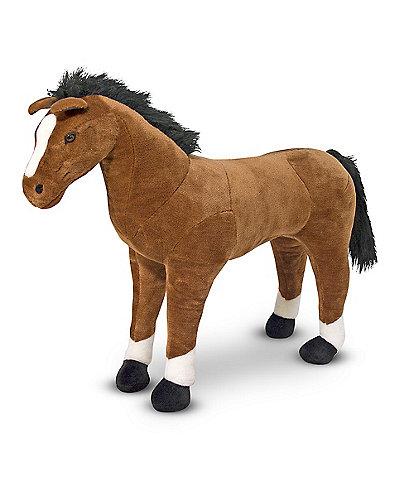 Melissa & Doug 32#double; Horse Giant Stuffed Animal