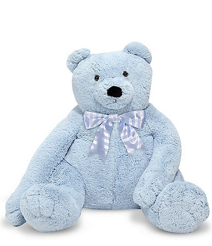 Melissa & Doug 2' Jumbo Blue Teddy Bear - Plush