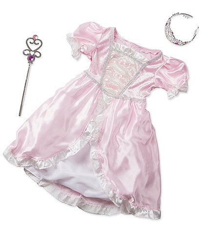 Melissa & Doug Kids Princess Role Play Costume Set