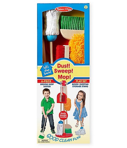 Melissa & Doug Let's Play House Dust Sweep Mop Play Set