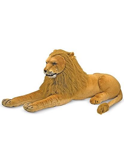 Melissa & Doug 22#double; Lion Giant Stuffed Animal