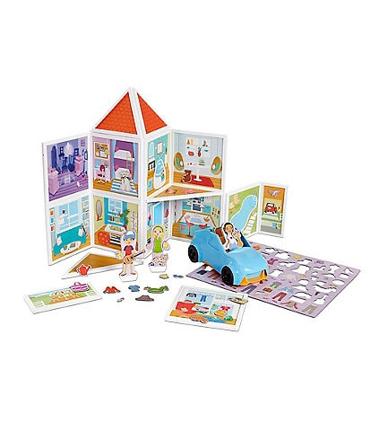 Melissa & Doug Magnetivity STEM Our House Magnetic Building Play Set