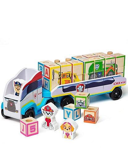 Melissa & Doug Paw Patrol ABC Wooden Block Truck