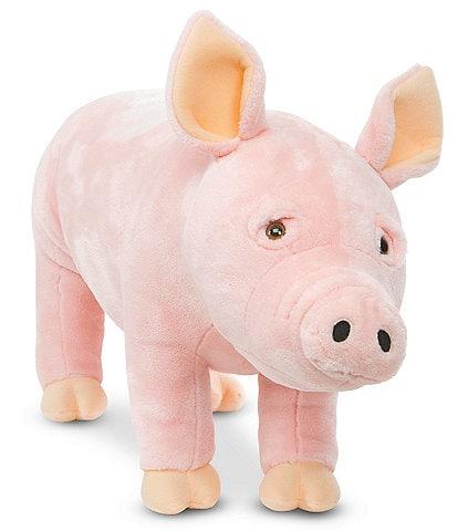 Melissa & Doug Pig Lifelike Stuffed Animal
