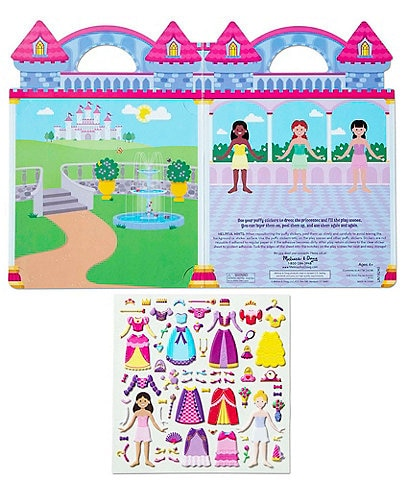 Melissa & Doug Puffy Stickers Play Set: Princess