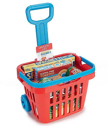 Melissa & Doug Rolling Grocery Cart