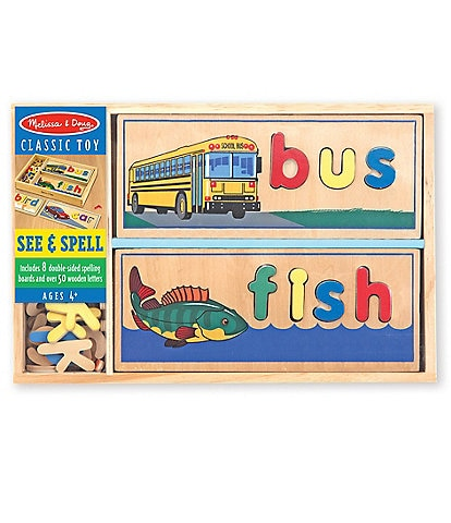 Melissa & Doug #double;See & Spell#double; Puzzle Boards