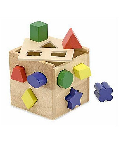 Melissa & Doug Shape Block Sorting Cube