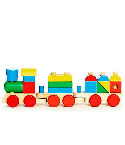 Melissa & Doug Stacking Block Train Play Set