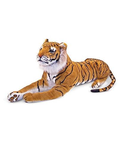 Melissa & Doug 20#double; Tiger Giant Stuffed Animal