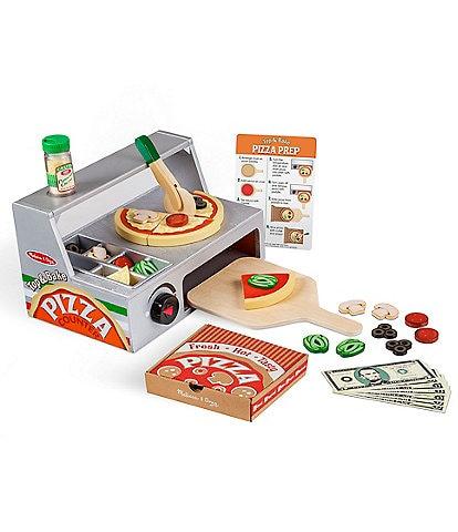 Melissa & Doug Top & Bake Pizza Counter Set