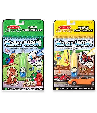 Melissa & Doug Water Wow! Vehicles & Animals Bundle Activity Set
