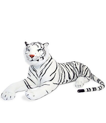 Melissa & Doug 20#double; White Tiger Giant Stuffed Animal