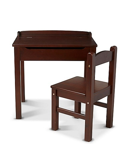 Melissa & Doug Wood Desk & Chair
