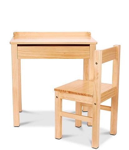 Melissa & Doug Wood Desk & Chair