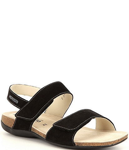 Mephisto Agave Banded Slingback Sandals