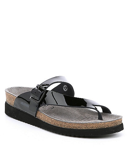 Mephisto Helen Leather Thong Slides