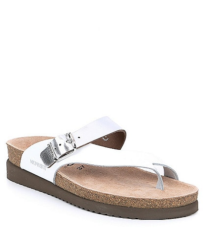 Mephisto Helen Mix Slide Thong Sandals