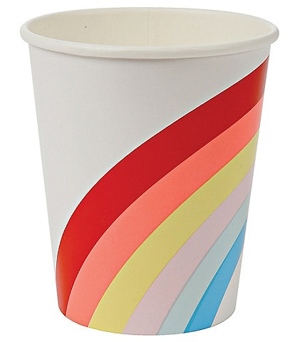 Meri Meri 12-Pack Rainbow Party Cups