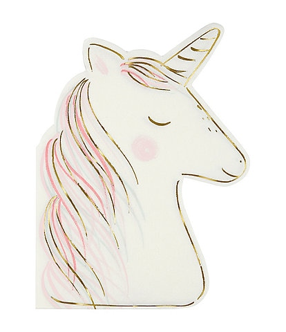Meri Meri 16-Pack Unicorn Party Napkins