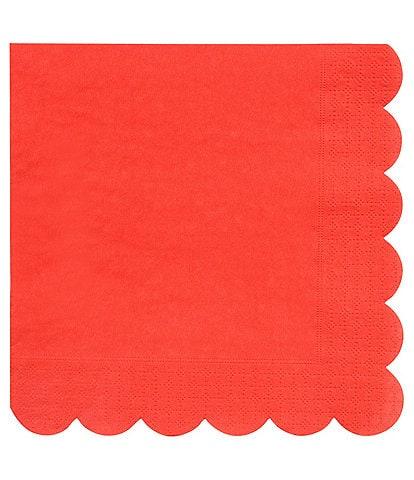 Meri Meri 20-Pack Red Party Large Napkins