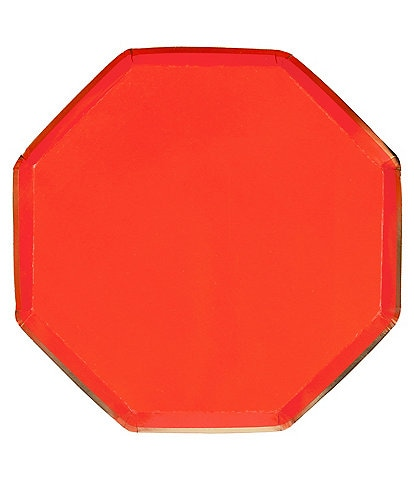 Meri Meri 8-Pack Red Party Side Plates