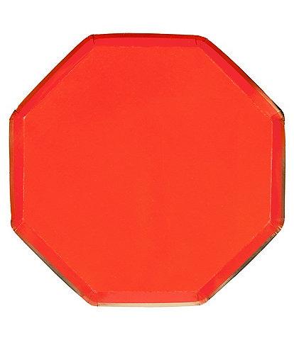 Meri Meri 8-Pack Red Party Side Plates