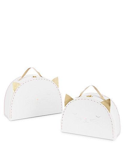 Meri Meri Girls Cat Suitcase Set