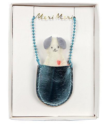 Meri Meri Girls Dog Pocket Necklace