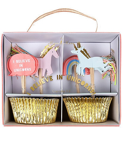 Meri Meri Girls Unicorn Cupcake Party Kit