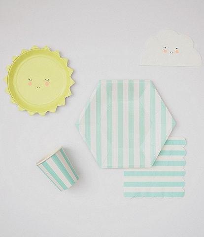 Meri Meri Mint Baby Shower Tableware Bundle