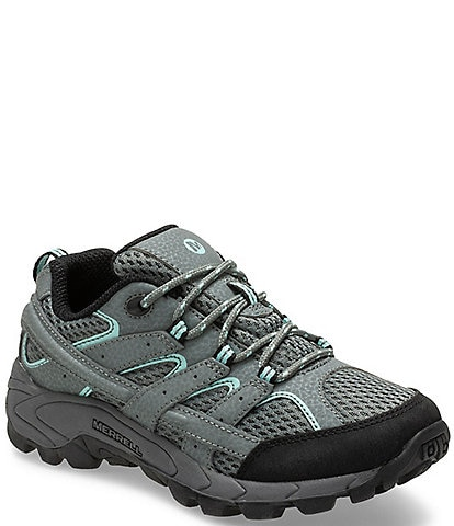 Merrell Boys' Moab 2 Low Lace Suede and Mesh Shoes (Youth)