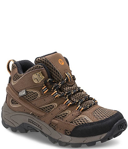 Merrell Boys' Moab 2 Mid Waterproof Hikers Youth