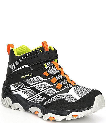 Merrell Boys' Moab FST Mid Alternative Closure Waterproof Hikers (Youth)