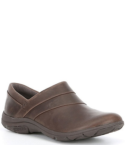 Merrell Women's Dassie Stitch Leather Slip On