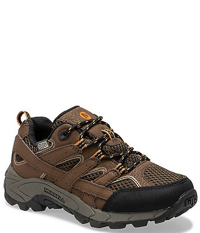 Merrell Kids' Moab 2 Low Lace Waterproof Sneakers (Youth)