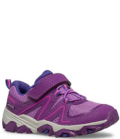 Merrell Girls' Trail Quest Jr Washable Leather And Mesh Sneakers (Toddler)